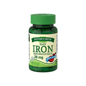 Nature's Truth Easy Iron 28 mg, 90 ea