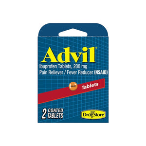 Advil Ibuprofen Tablets, 200 mg, 2 ea