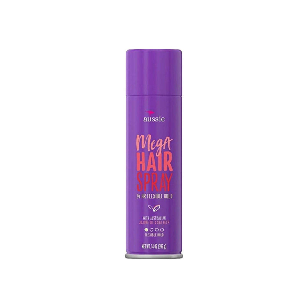 Aussie Hairspray Mega Flexible Hold 14 oz