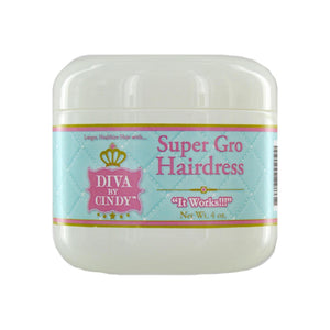 Diva By Cindy Super Gro Hairdress, 4.0 oz