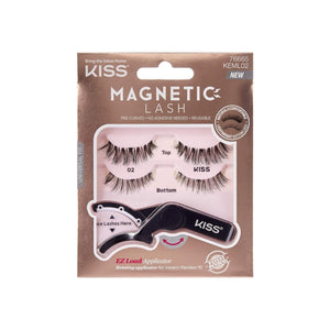 KISS Magnetic Strip Lash w. Applicator [02] 1 ea