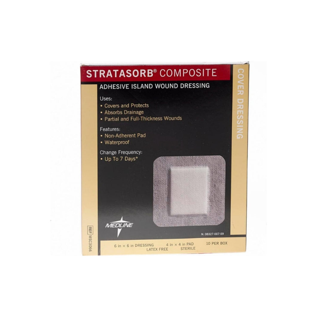 Medline Stratasorb Composite Dressings 6