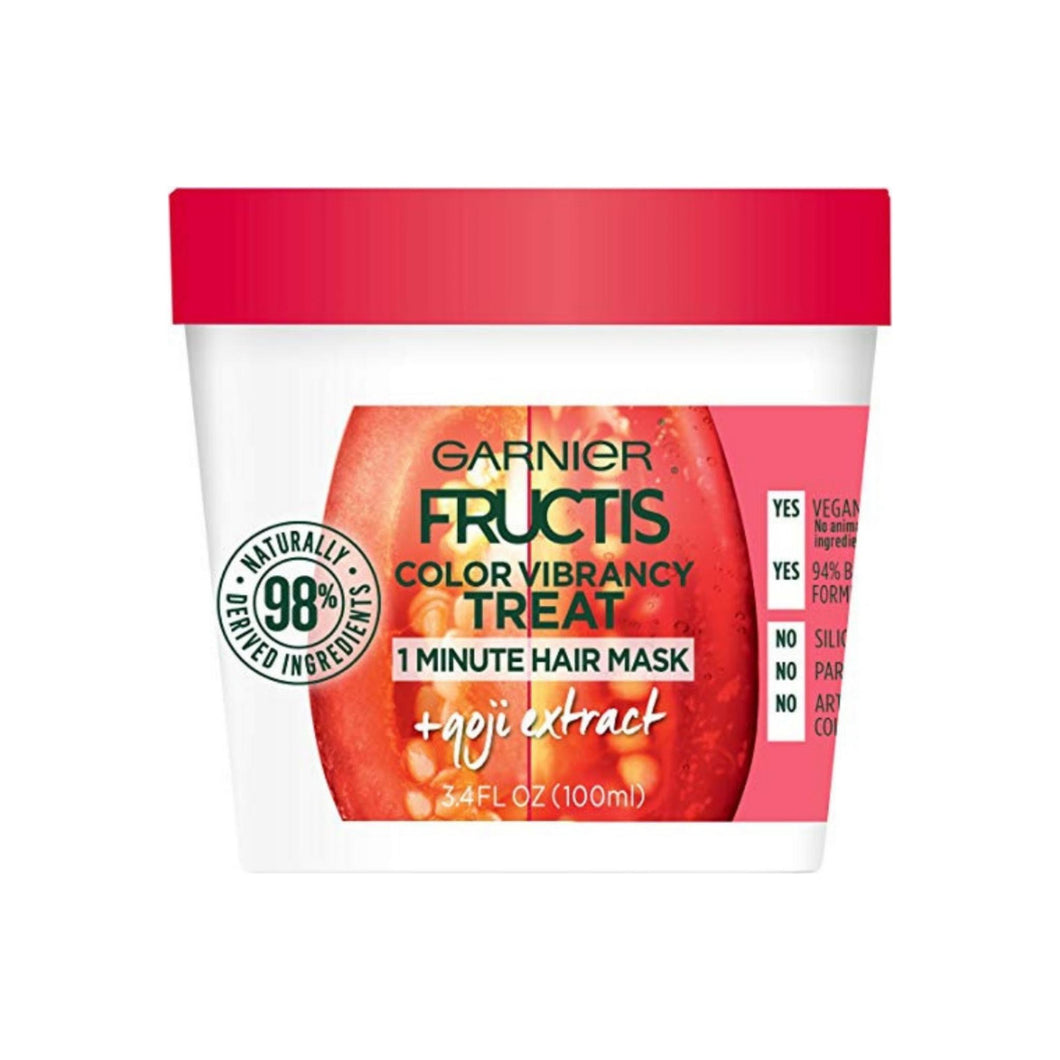 Garnier Fructis Color Vibrancy Treat Hair Mask + Goji Extract 3.4 oz