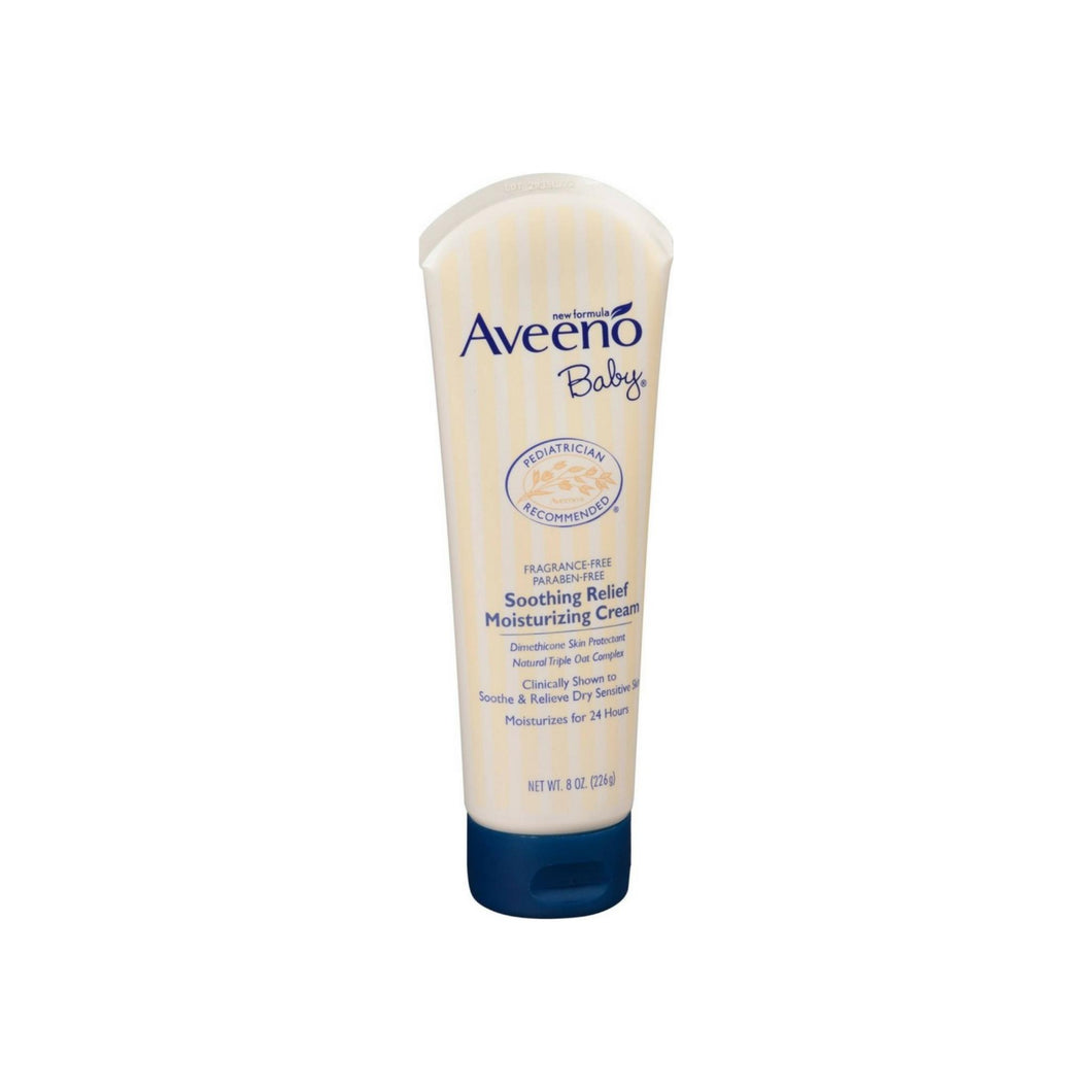 Aveeno Baby Soothing Relief Moisture Cream, 8 oz