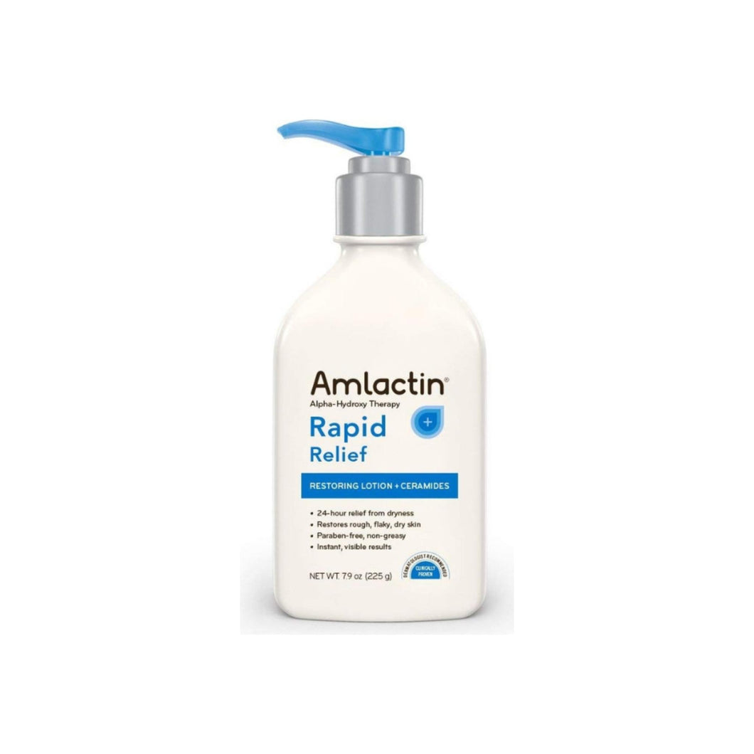 AMLACTIN Alpha-Hydroxy Therapy Rapid Relief Restoring Lotion, 7.9 oz
