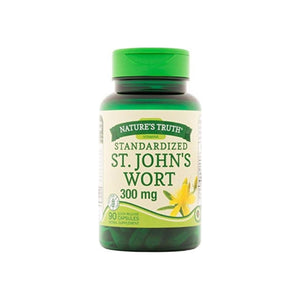 Nature's Truth St. John's Wort Extract 300 mg Supplement,  90 ea