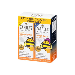 ZarBee's Naturals  Children's Daytime & Nighttime Cough Syrup, Natural Grape,  2 ea