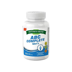 Nature's Truth ABC Complete Men's Multivitamin,  100 ea