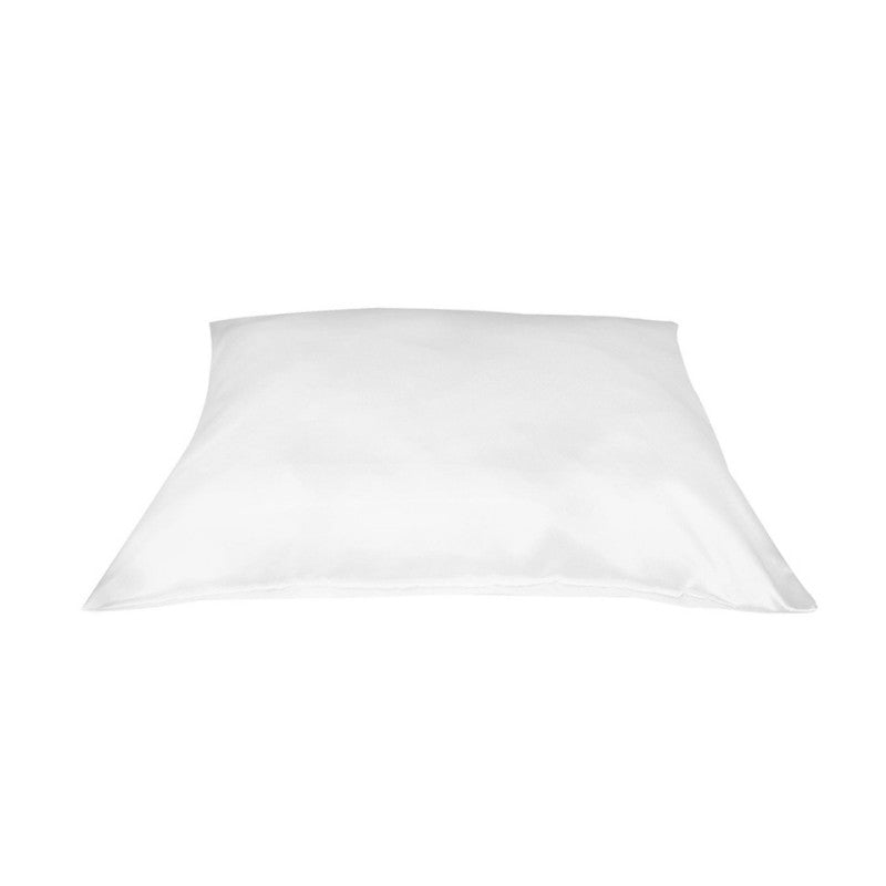 Betty Dain Satin Standard Pillowcase in White, 1 ea