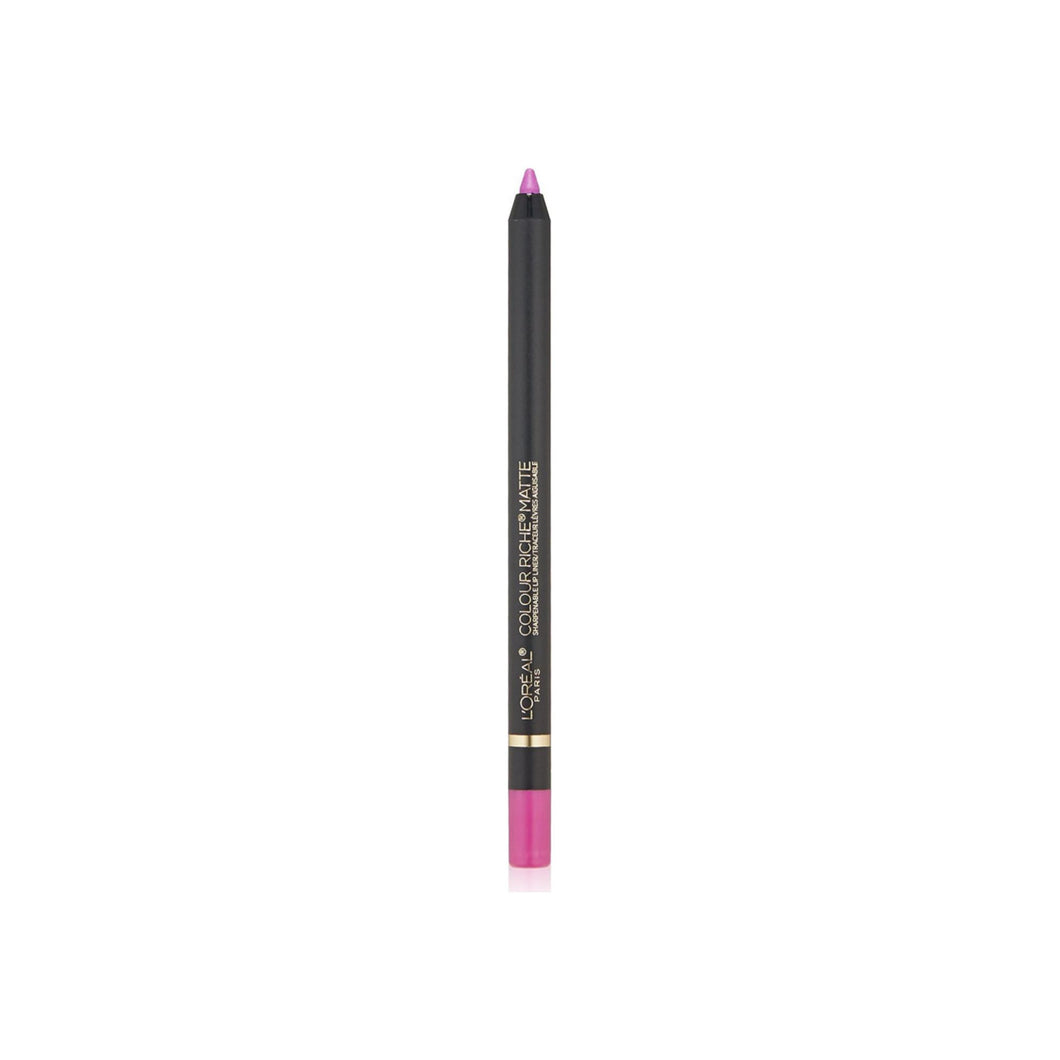 L'Oreal Paris Colour Riche Matte Lip Liner, Strike A Matte-Ch, 0.04 oz