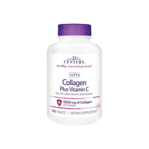21st Century Super Collagen Plus Vitamin C Supplements, 180 ea - Pharmapacks