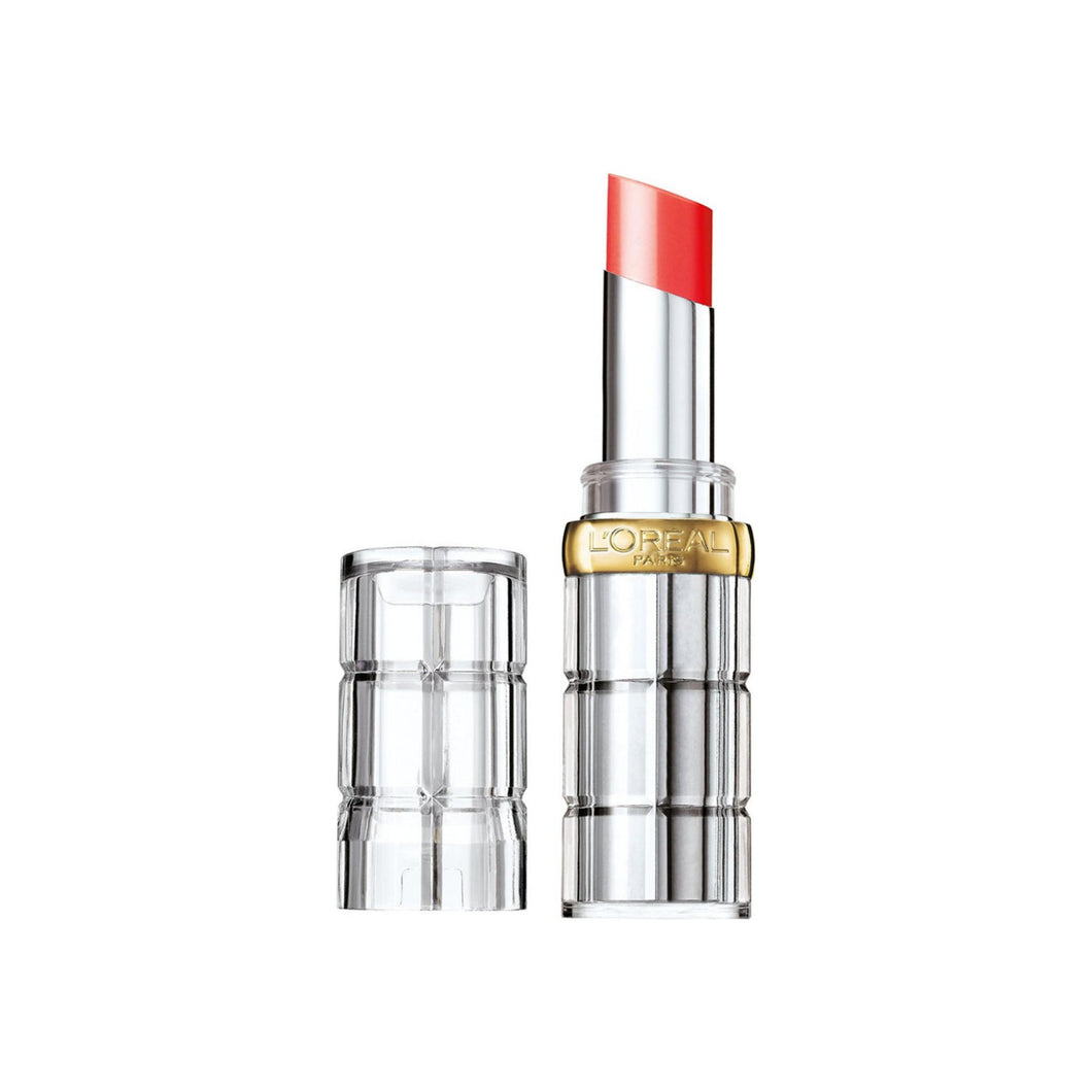 L'Oreal Paris Colour Riche Shine Lipstick, Luminous Coral, 1 ea