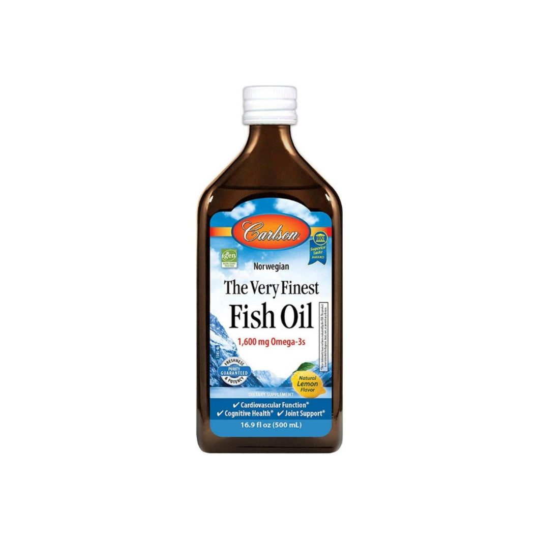 Carlson The Very Finest Fish Oil, 1,600 mg Omega-3s, 16.9 oz