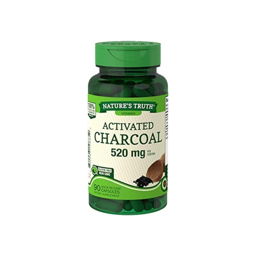 Nature's Truth Activated Charcoal 260mg, 90 ea
