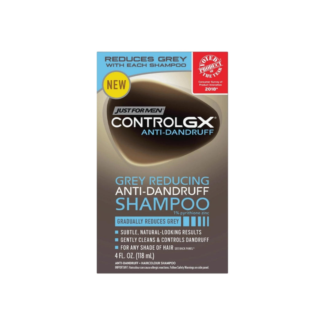 Just For Men Control GX Gray Reducing Anti-Dandruff Shampoo, 4 oz