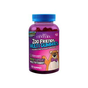21st Century Zoo Friends Multi Gummies, 60 ea