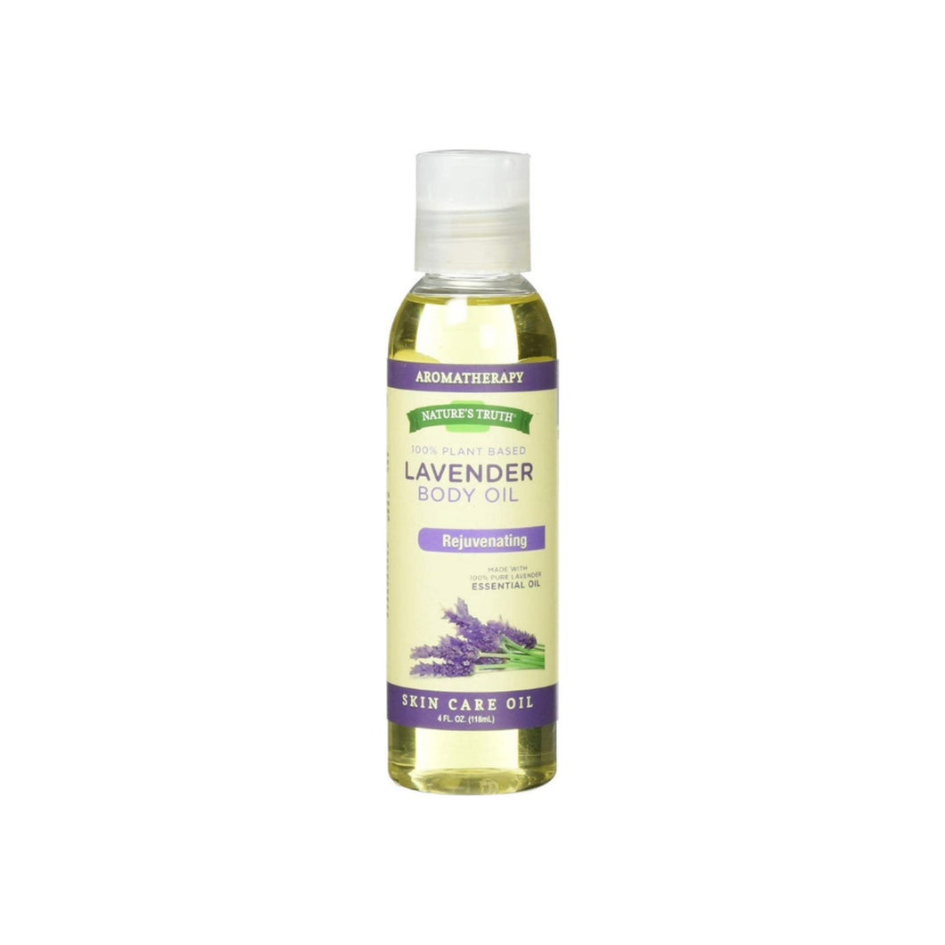 Nature's Truth Aromatherapy Lavender Body Oil, 4 oz