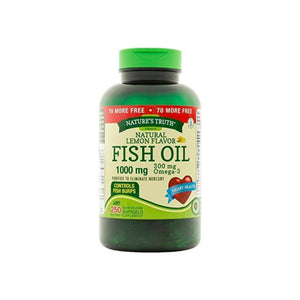 Nature's Truth 1000 Mg Omega-3 Fish Oil Softgels, 250 ea