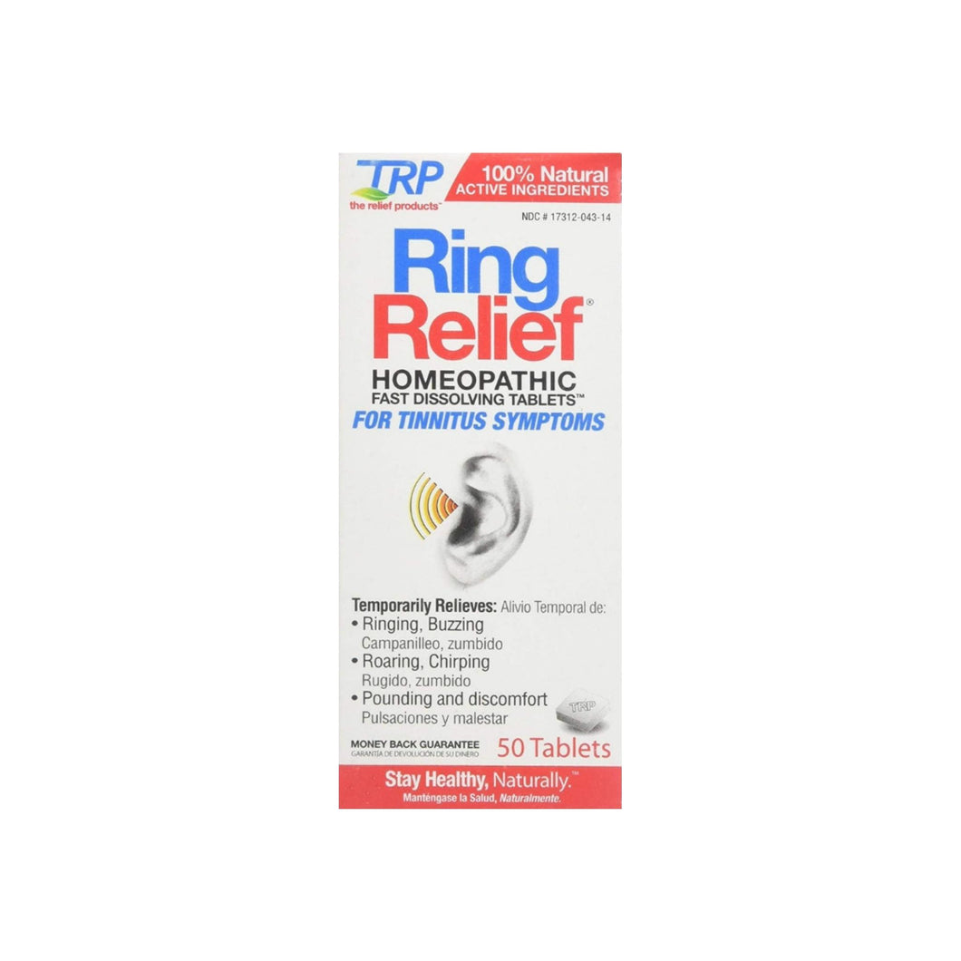 The Relief Products Ring Relief Fast Dissolving Tablets, 50 ea