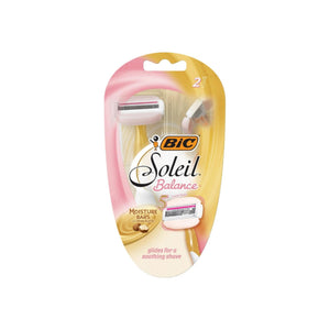 Bic Soleil Balance with Shea Butter Women's Disposable Razors, 2 ea