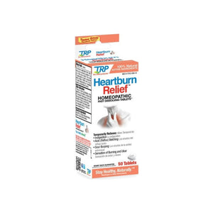 The Relief Products Heartburn Relief Homeopathic Fast Dissolving Tablets, 50 ea