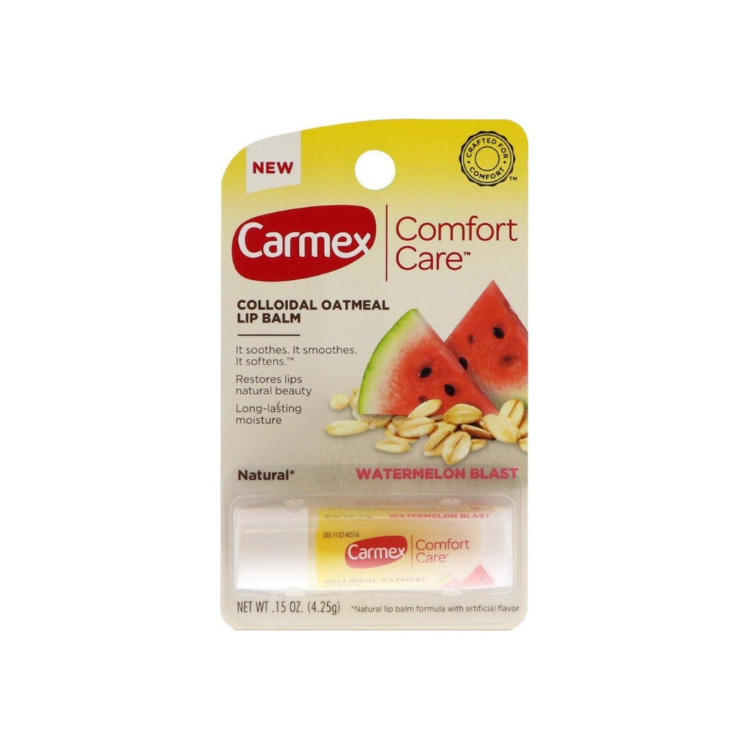 Carmex Comfort Care Watermelon Blast Stick, 0.15 oz