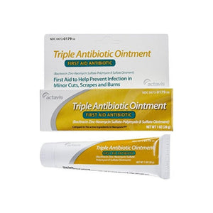 Actavis First Aid Triple Antibiotic Ointment Cream, 1 oz - Pharmapacks