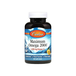 Carlson  Maximum Omega 2,000 mg Omega-3s,  60 ea