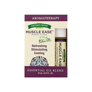 Nature's Truth Muscle Ease Essential Oil Blend, 0.33 oz