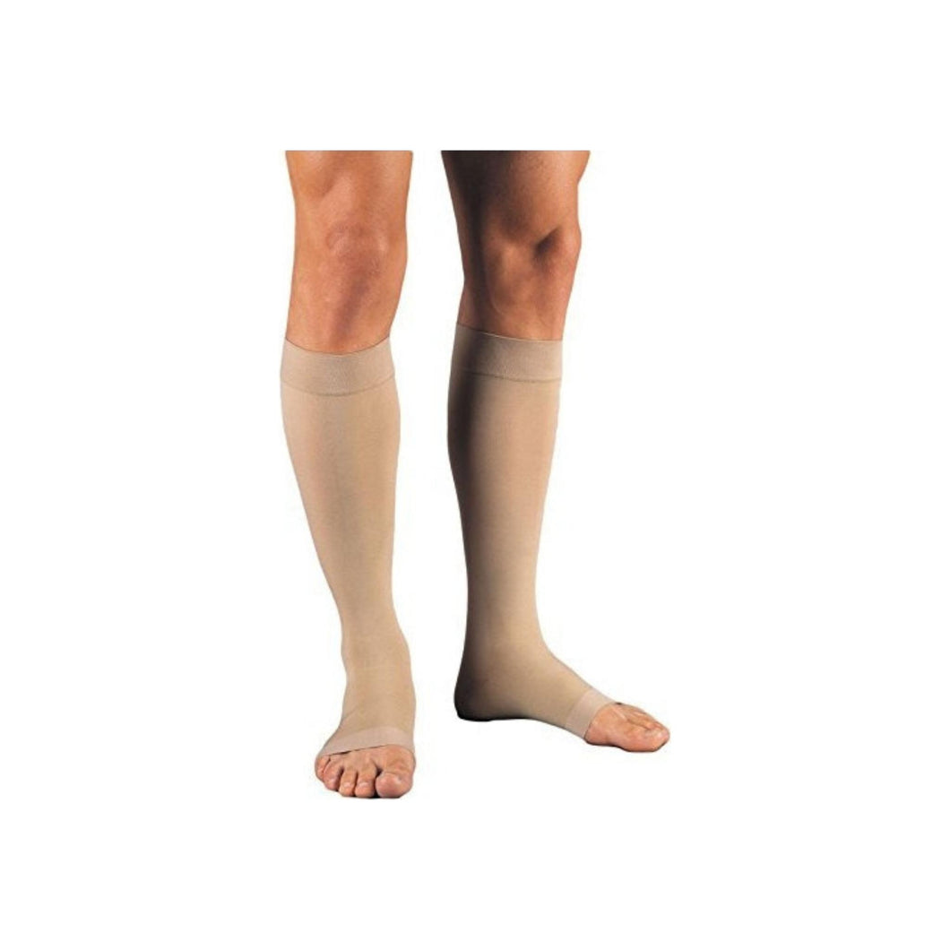 JOBST Relief Knee High Compression Stockings, 20-30mmhg, Beige, Small, 1 Pair