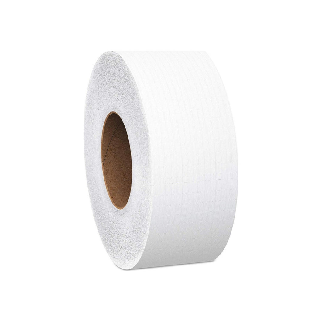 Kimberly-Clark Professional Kleenex Cottonelle JRT Jr Toilet Tissue White 2Ply Jumbo Size Cored Roll Continuous Sheet 355