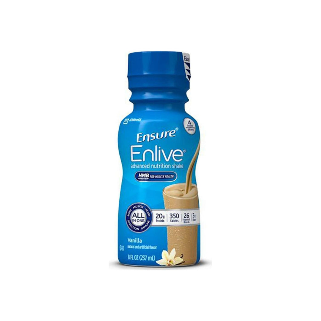 Ensure Enlive Oral Supplement Vanilla, 8 oz