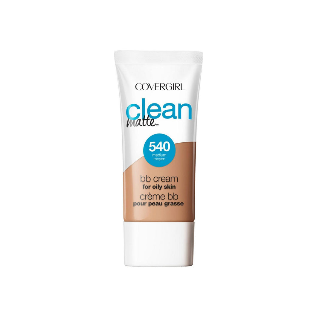 CoverGirl Clean Matte BB Cream Medium 540 For Oily Skin 1 oz