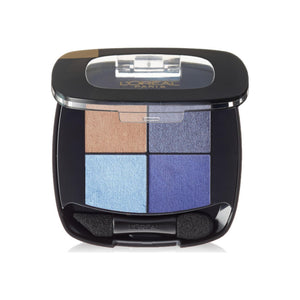 L'Oreal Paris Colour Riche Eye Pocket Palette Eye Shadow, Bleu Nuit, 0.1 oz