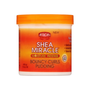 African Pride Shea Miracle Moisture Intense Bouncy Curls Pudding 15 oz