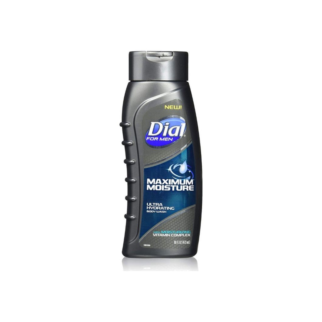 Dial for Men Maximum Moisture Ultra Hydrating Body Wash, 16 oz