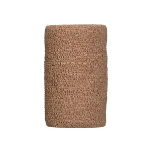 "3M Coban Cohesive Bandage 4"" X 5 Yard Standard Compression Selfadherent Closure Tan Sterile - Pharmapacks"