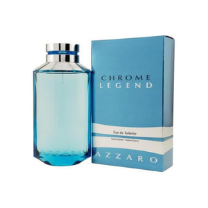 Chrome Legend By Azzaro Eau de Toilette Spray For Men 2.6 oz