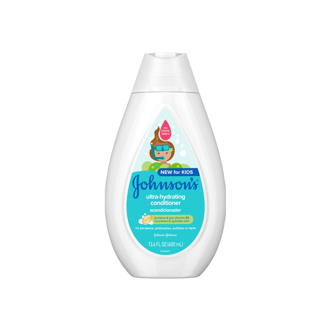 JOHNSON'S Ultra-Hydrating Tear-Free Kids' Conditioner with Pro-Vitamin B513.6 13.6 oz