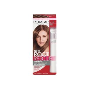 L'Oreal Root Rescue 10 Minute Root Coloring Kit, 6 Light Brown 1 ea