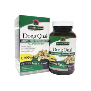 Nature's Answer Dong Quai Root Herb Supplement Vegetarian Capsules 90 Capsules
