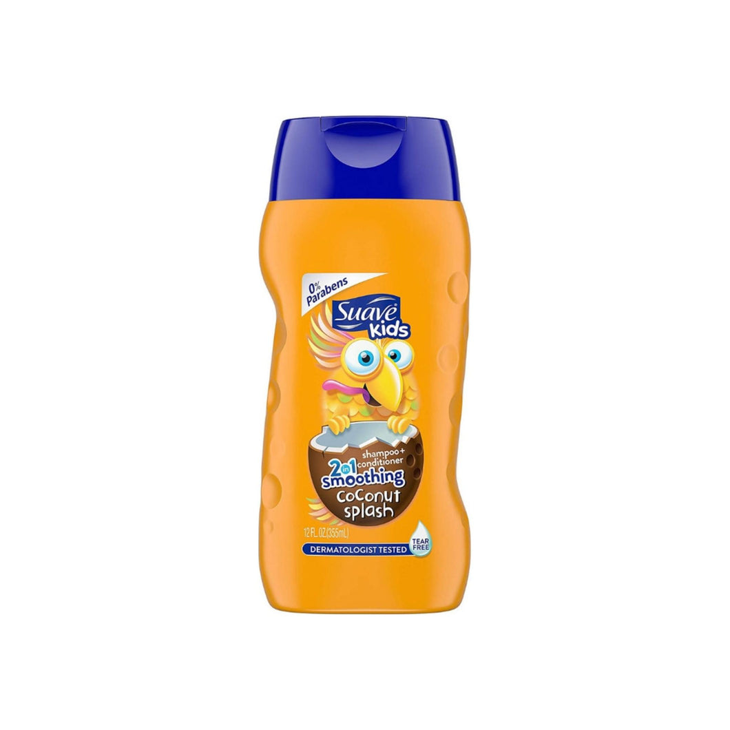 Suave Kids 2-in-1 Shampoo Smoothers, Cowabunga Coconut 12 oz