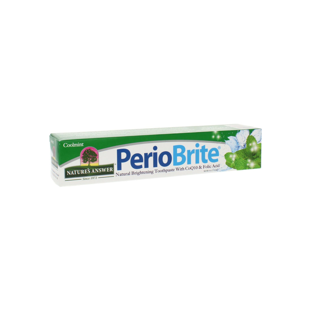 Nature's Answer Periobrite Toothpaste Cool Mint  4 Oz