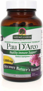 Nature's Answer  Pau D'arco Inner Bark 90 V-caps