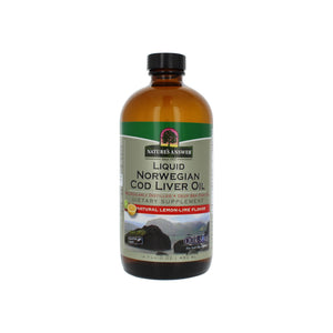 Nature's Answer Liquid Cod Liver Oil  16 oz