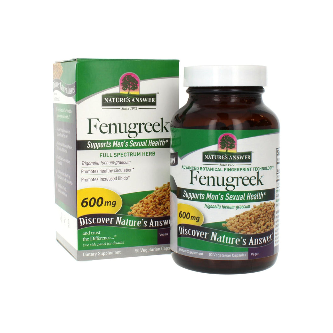 Nature's Answer Fenugreek Seed  90 ct