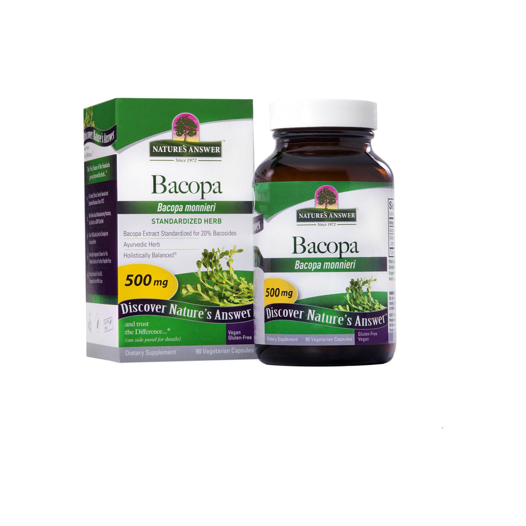 Nature's Answer Nature's Answer Bacopa Std  90 ct