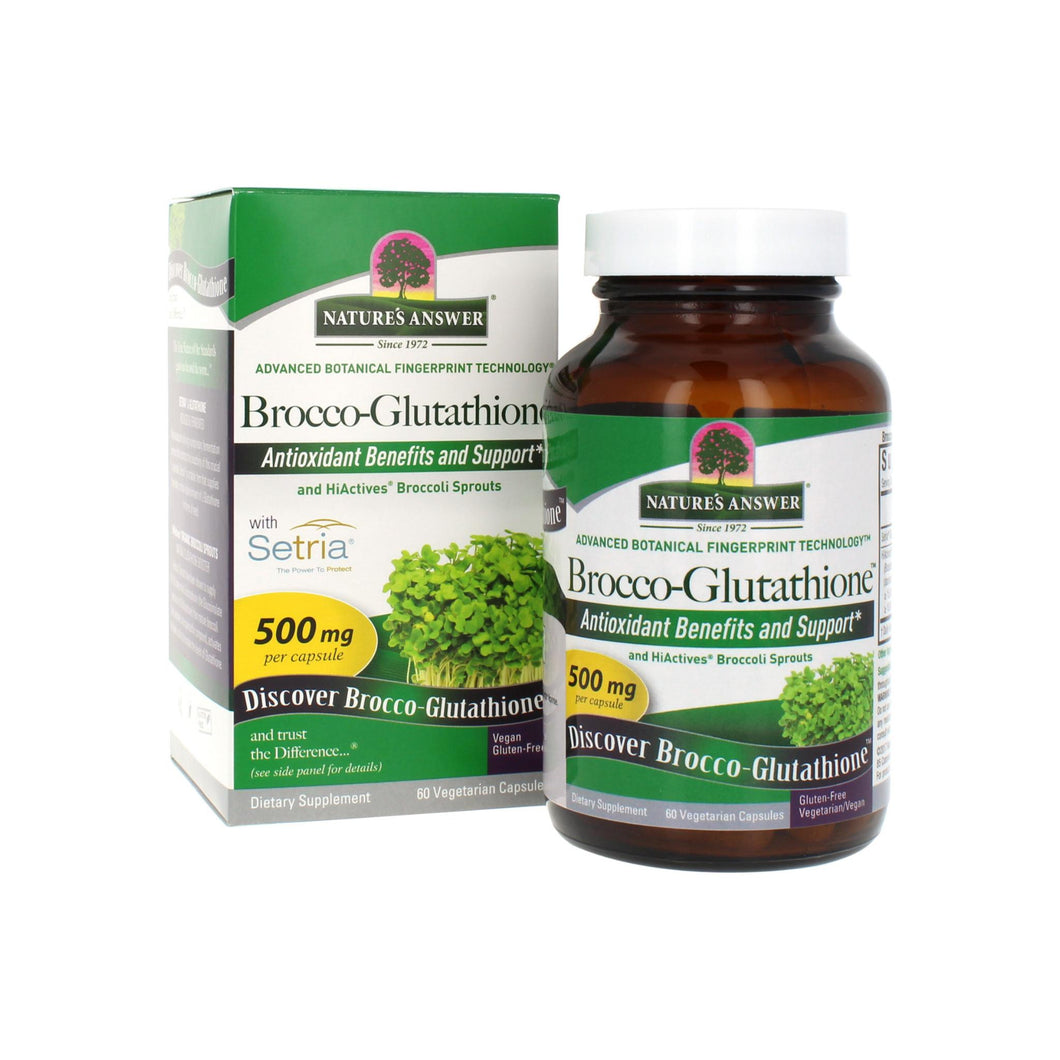 Nature's Answer  Nature's Answer Brocco-glutathione  60 ct