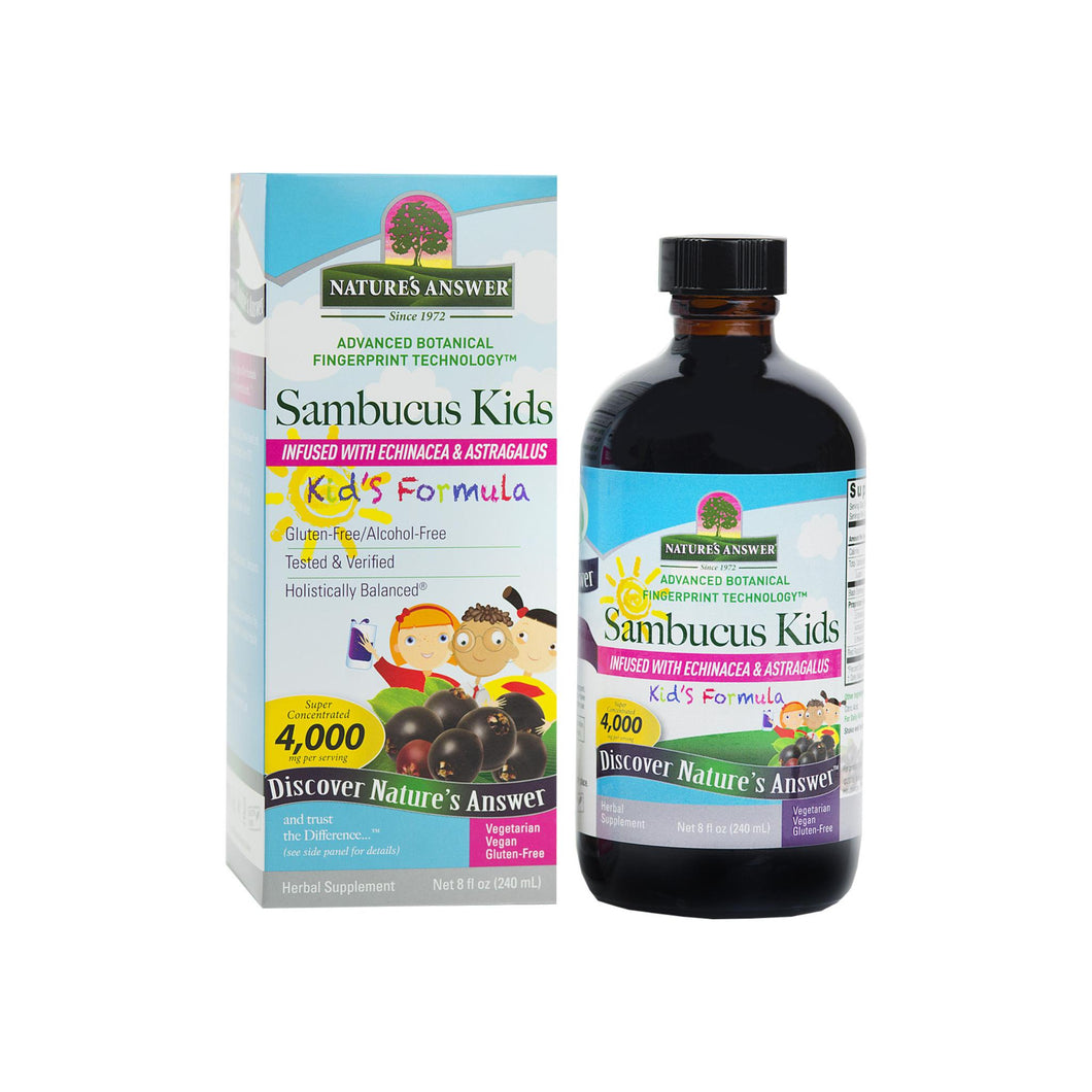 Nature's Answer Sambucus for Kids  8 oz