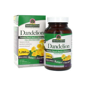 Nature's Answer Dandelion Root  90 ct